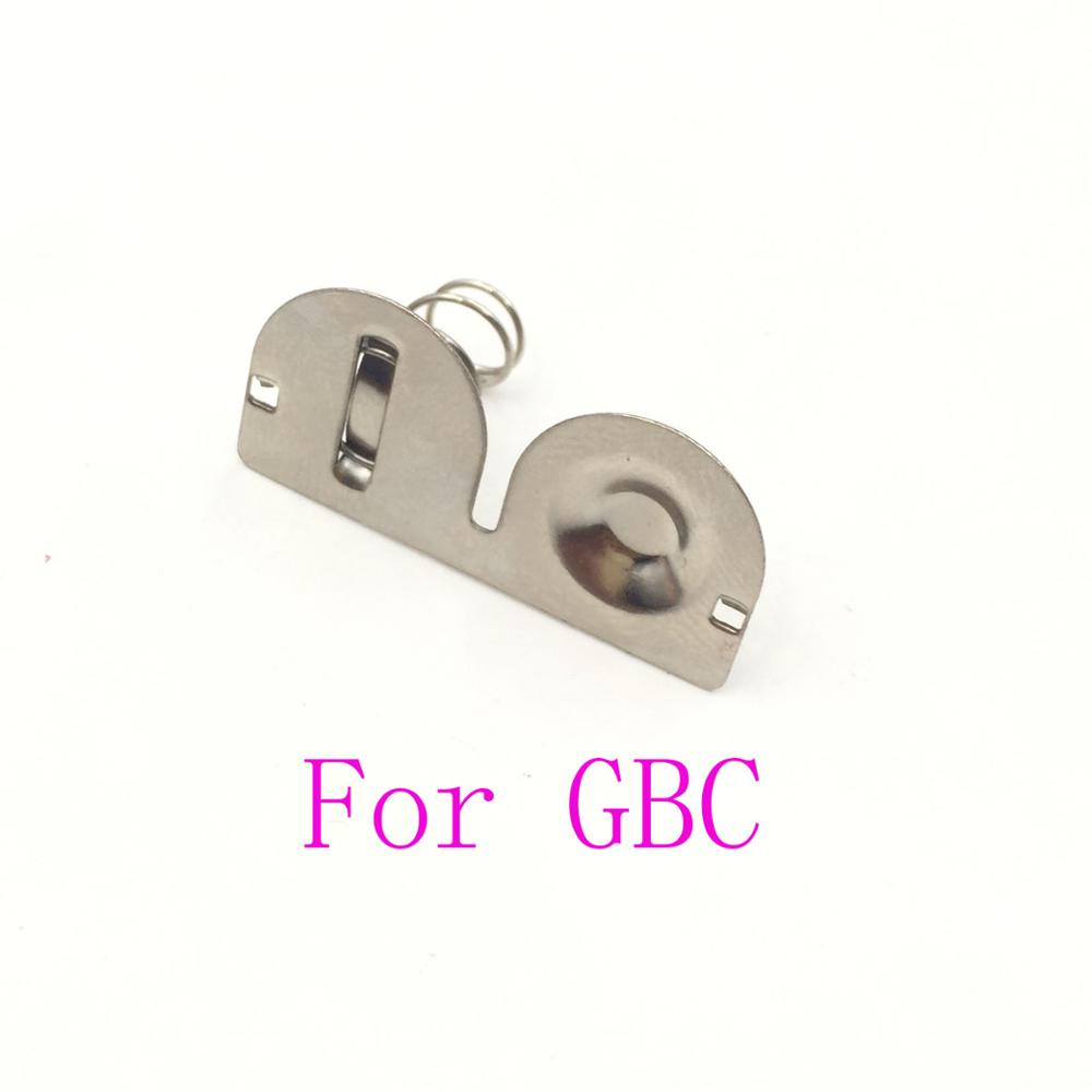 20PCS For GBC Battery Terminals Spring Contacts Battery Spring For Nintendo <font><b>GameBoy</b></font> <font><b>Color</b></font> <font><b>Game</b></font> Console image