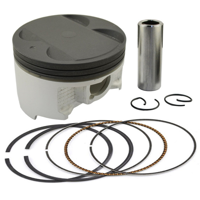 Motorcycle Engine parts STD Cylinder Bore Size 83mm Pistons & Rings Kit For Suzuki AN400 AN 400 Burgman 400 Skywave 400
