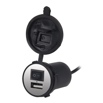 12v Motorcycle USB Charger Power Waterproof Socket Cigarette Lighter Motorbike USB Charger Socket Switch 12v For Phone Iphone 6 Мотоцикл