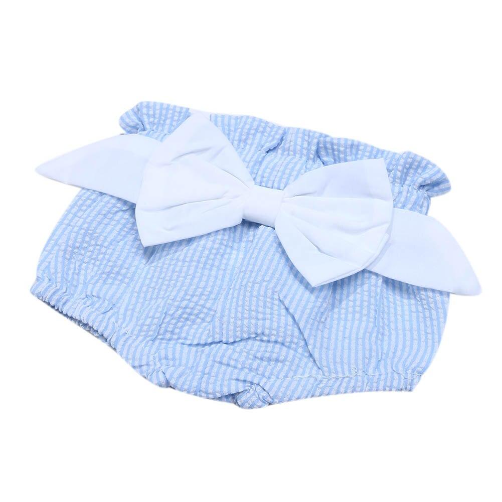 3pcs/set Baby Girls Clothing Set Infant Girls Sleeveless Striped Halter Lace Dress+Briefs+Belt Fashion Summer Babies Outfit Set