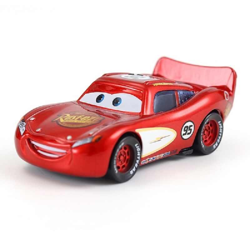 מכוניות דיסני פיקסאר מכוניות מאק לייטנינג מקווין & חומוס היקס & מלך & Fabulous הדסון משאית צעצוע מכונית 95 אוסף משלוח משלוח