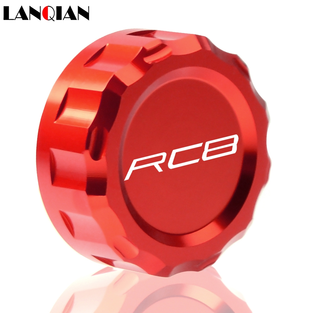Motorcycle CNC Aluminum Rear Brake Fluid Reservoir Cover Cap For KTM RC8 2009 2010 2011 2012 2013 2014 2015 2016 in Levers Ropes Cables from Automobiles Motorcycles