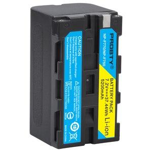 Image 3 - Dla sony NP F770 NP F750 NP F770 bateria do sony CCD RV100 CCD RV200 SC5 TR940 TR917 kamera CN 216 CN 304 YN300 VL600 wideo LED