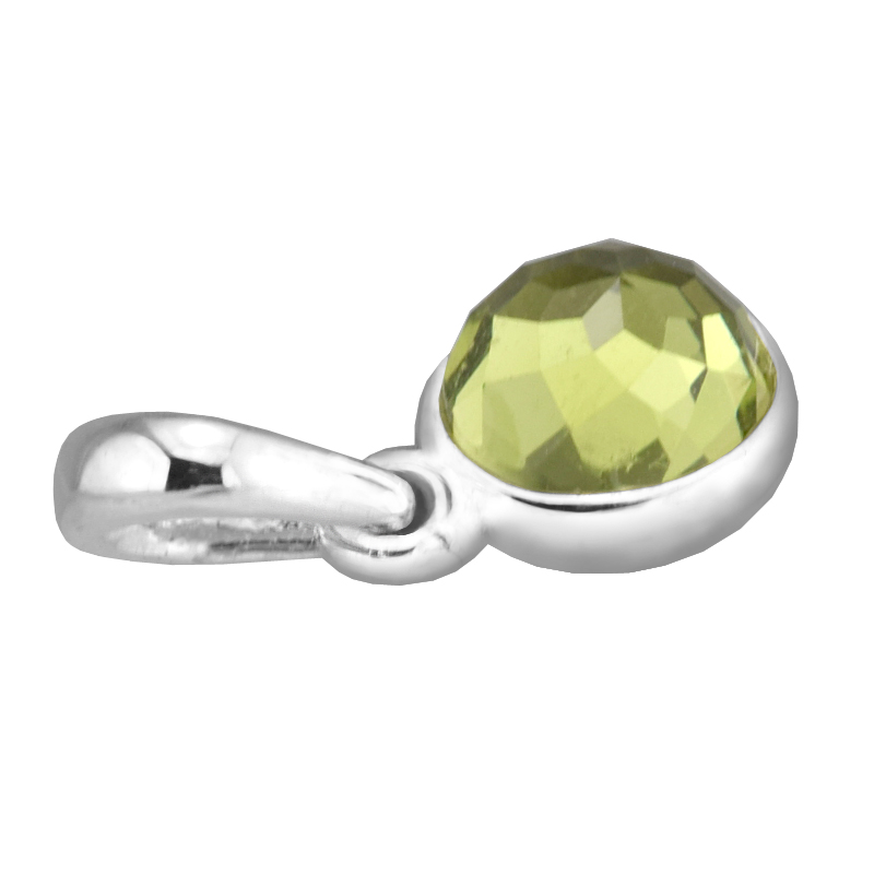 e91219b62 Fits for Pandora Bracelets August Droplet Charms with Peridot 925 Sterling  Silver Beads Jewelry Free Shipping-in Beads from Jewelry & Accessories on  ...