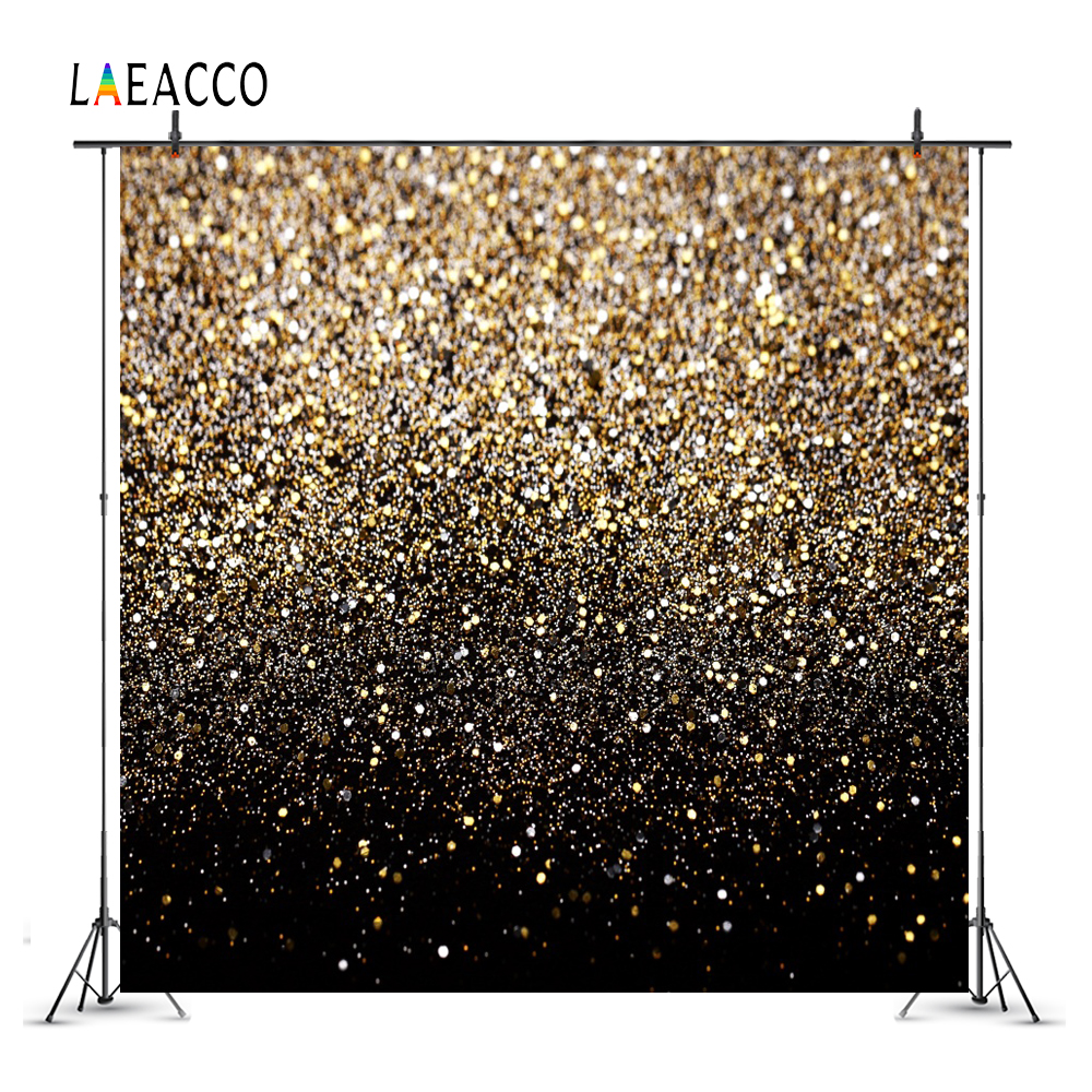 Laeacco Glitters Light Bokeh Portrait Photography Backgrounds Customized Photographic Backdrops For Photo Studio polyester merry christmas room gifts photography backdrops for party photo studio portrait backgrounds props s 2626
