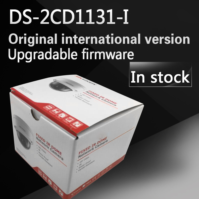In stock english version DS-2CD1131-I replace DS-2CD2135F-IS DS-2CD2135F-IWS 3MP network camera with POE free shipping in stock new arrival english version ds 2cd2142fwd iws 4mp wdr fixed dome with wifi network camera