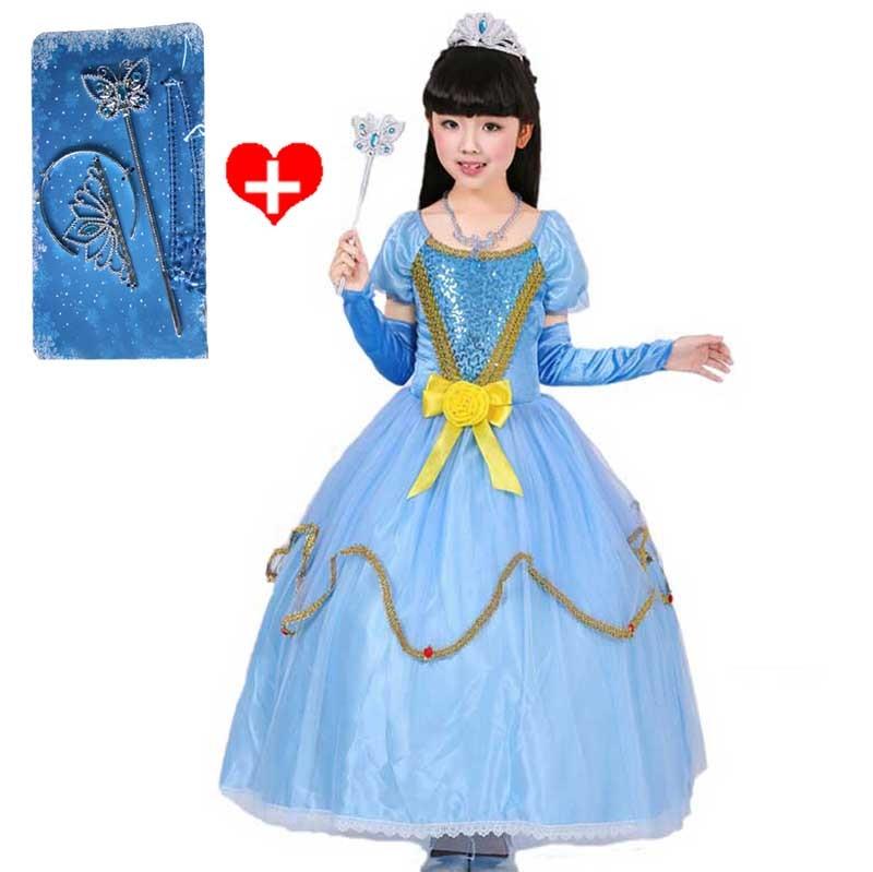 Original Princess Snow White Cinderella Dresses Costumes: Popular White Cinderella Costume-Buy Cheap White