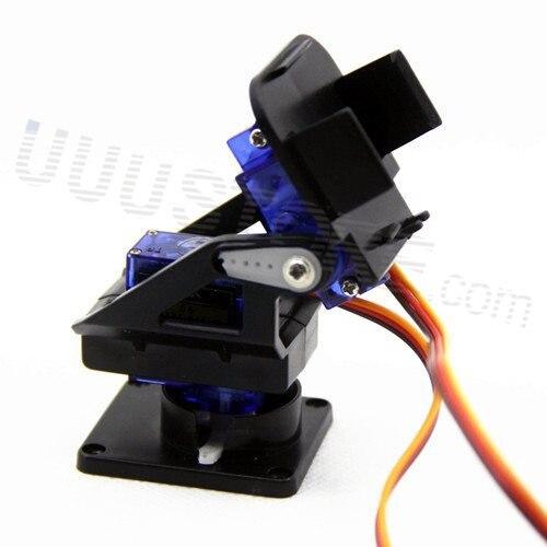 Free Shipping,1set Nylon FPV Pan/tilt Camera Mount Gimbal+ 2pcs SG90 9g Servo Retail Promotion Dropship