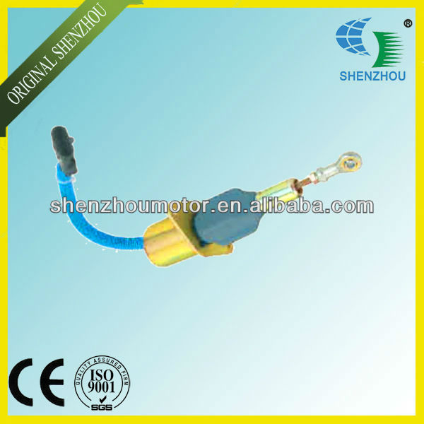 цены Free Shipping Solenoid 3930233 SA-4335-12 Flameout Valve For Excavator Generator 6CTA 8.3L