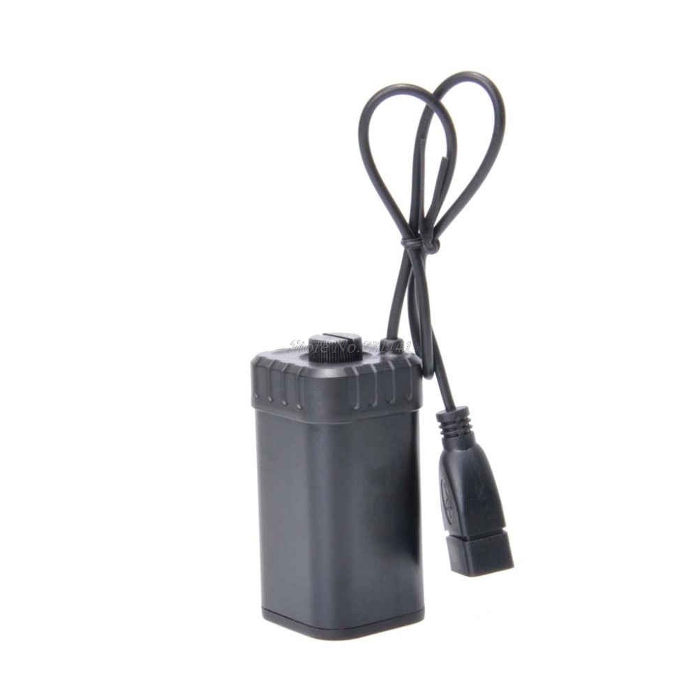 8AA Battery Holder Power Supply CCTV Portable 12V DC