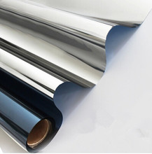 Оконная одну сторону зеркала солнечная изоляции светоотражающие коричневый серебро пленка наклейки