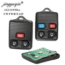 jingyuqin 3/4 Button Remote Car Key Transit Keyless Entry Fo