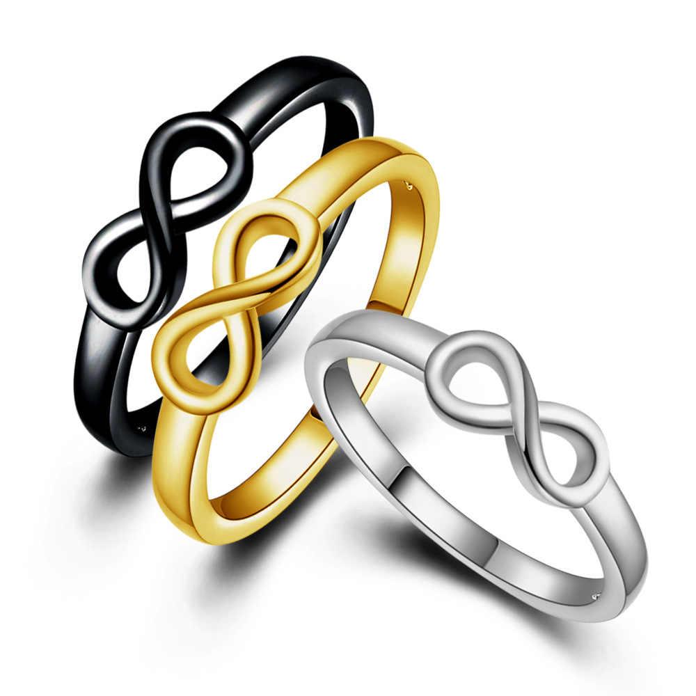 החדש רטרו אישיות פשוטה אופנה סיטונאי טבעת זהב חיקוי משובח 8 תווים CRD25