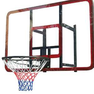 Standard Nylon Basketball Net White Red Blue Z70 Thread Sports Basketball Hoop Mesh