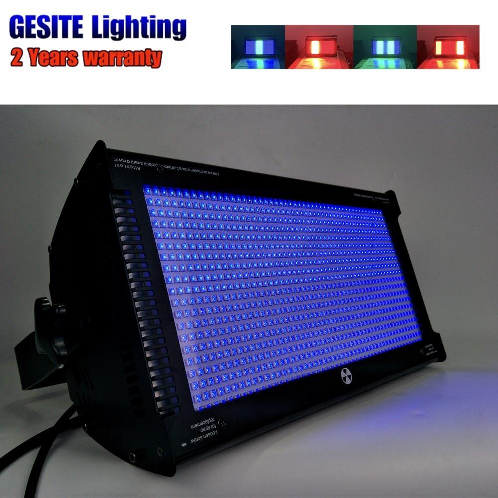 2pcs 1000x1W 3In1 Club Light LED Strobe Wash Light
