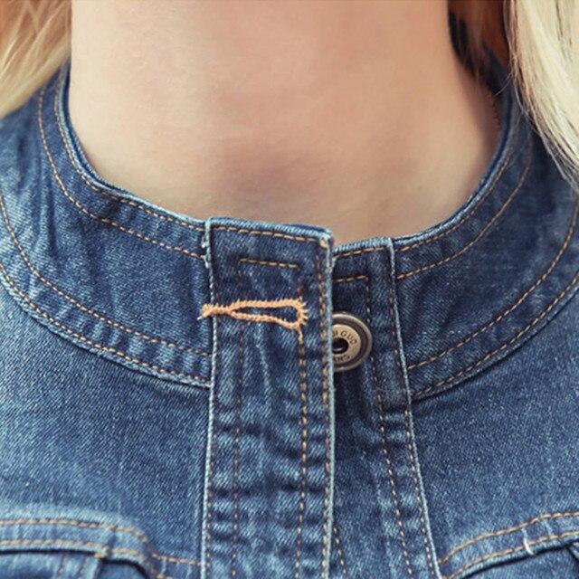 Фото куртка rugod женская джинсовая винтажная повседневная верхняя