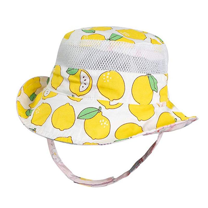 Bébé garçon en coton voitures tracteurs Seau cowboy chapeau de soleil avec mentonniere Âge 1 2 3 4