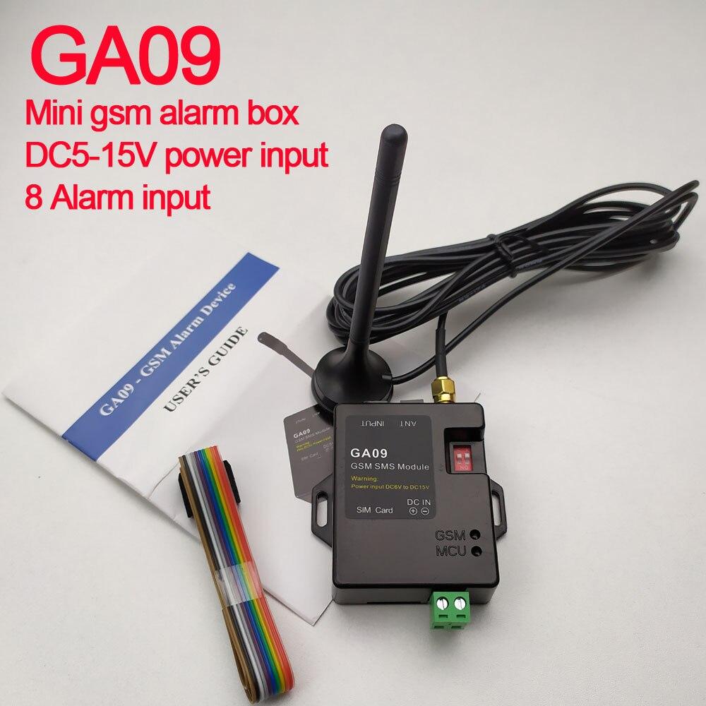 Livraison gratuite App contrôle GA09 GSM système d'alarme SMS alerte alarme sans fil alarme de sécurité domestique et industrielle