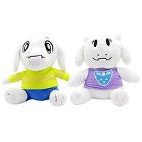 2 шт/лот 26 см Undertale Sans Asriel & Toriel плюшевые мягкие игрушки мягкие Мультяшные животные игрушки куклы для дети детские подарки