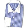 Мужчины Формальные Бизнес Настроить Рубашки Повседневные С Длинным Рукавом Ткань На Заказ Личная Тонкий Свободную Рубашку CH0059RYB-s