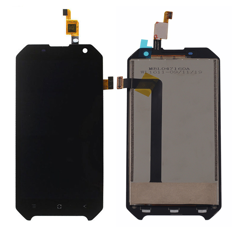 Original For Blackview BV6000 LCD Display With Touch Screen Digitizer Assembly free shipping