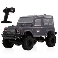 RGT RC Crawlers 1/24 Scale 4wd Off Road Car 4x4 mini Off-Road Truck RTR Lipo Rock Crawler Adventurer D90 With Lights