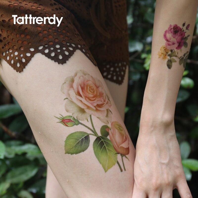 Mangas del tatuaje de la pierna compra lotes baratos de for Adult temporary tattoo