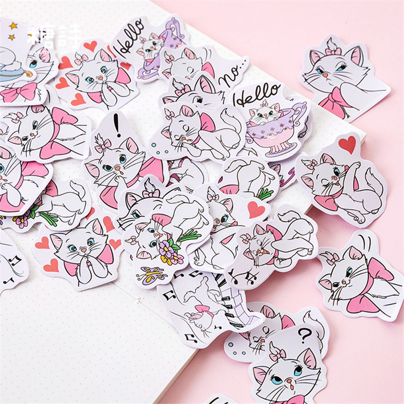 45 Pcs/box DIY Kawaii Flower Stickers Unicorn Cartoon Cat Stationery Stickers Scrapbooking For Decoration Photo Album Diary45 Pcs/box DIY Kawaii Flower Stickers Unicorn Cartoon Cat Stationery Stickers Scrapbooking For Decoration Photo Album Diary