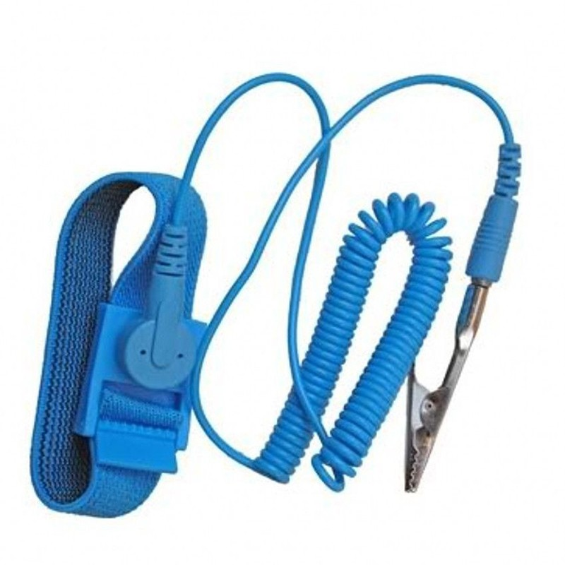 Objective Free Shipping Anti Static Esd Wrist Strap Discharge Band Grounding For Improving Blood Circulation