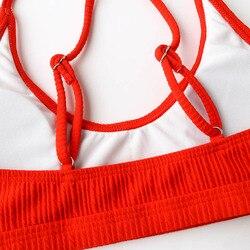 Стринги бикини женские 2019 бразильский купальник женский сексуальный купальник пляжная одежда купальный костюм для женщин купальный костю... 6