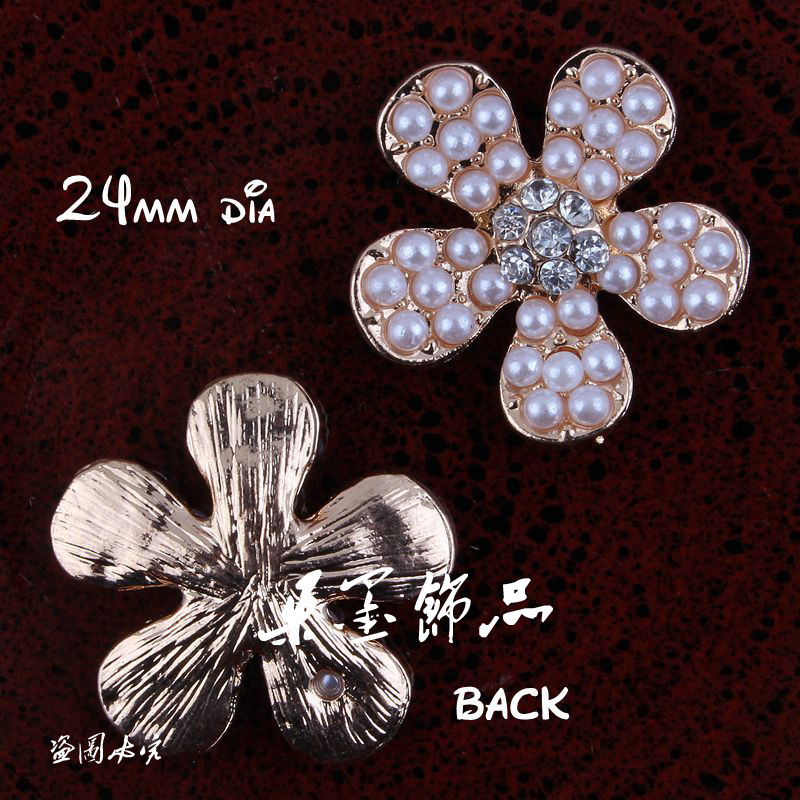 50pcs 20mm Vintage Alloy Rhinestones Buttons Flatback Glass Drill Decorative Button For Children Headband Bowknot Accessories Arts,crafts & Sewing Apparel Sewing & Fabric