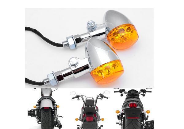 Accesorios de La Motocicleta Motocicleta modificada 1pai LED retro luces de dire