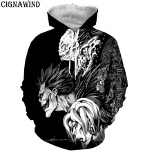 New Classic Anime death note hoodies men women sweatshirts Harajuku style  printed 3d hoodie hip hop pullover hooded streetwear 144aa1bff