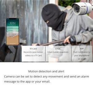 Image 4 - Câmera de vigilância residencial, hd 1080p ip externa wi fi residencial de vigilância 720p 3mp sem fio à prova dágua ip onvif câmera de camara