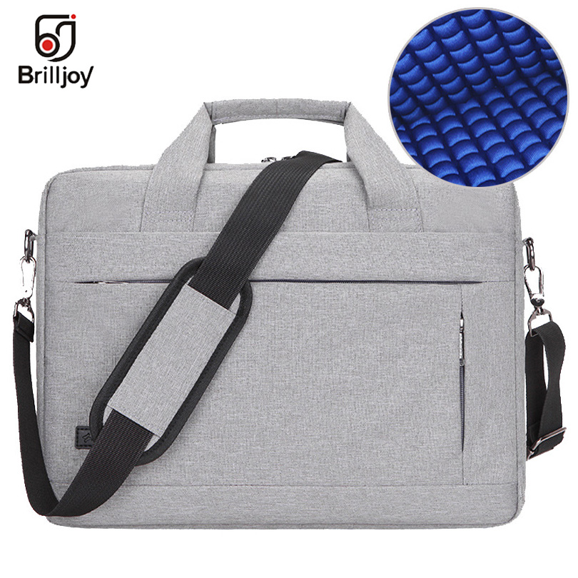 Brilljoy Men Women Travel Briefcase Bussiness Notebook Bag For Large Capacity Laptop Handbag For 14 15 Inch Macbook Pro Dell PC