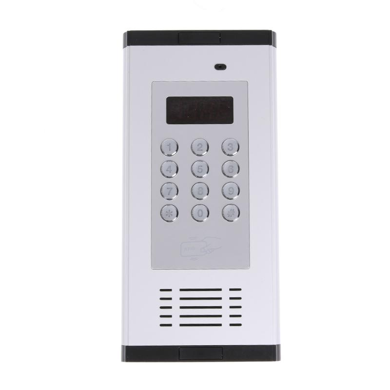 GSM 3G Apartment Intercom Access Control System Video Door Phone Doorbell Intercom Doorphone Apartment Security my apartment