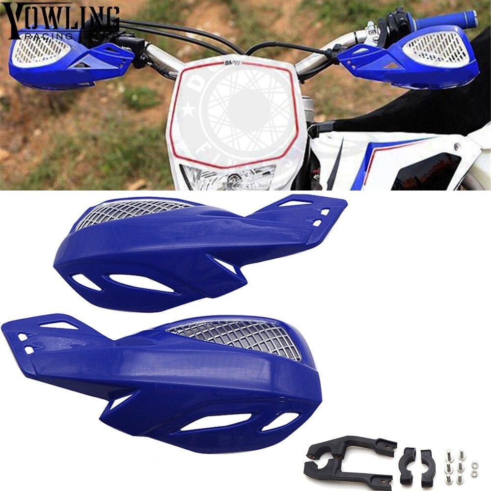 7/8 22mm Handbars Handguards Falling Protection Hand Guard Cover for Honda Yamaha Suzuki KTM Motocross Dirt Pit Bike Motorbike