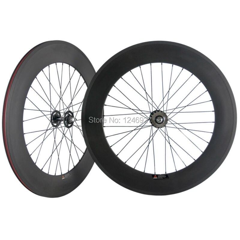Fixed Gear Bike Carbon Wheelset 88mm Tubular Wheel Carbon Track Bike Wheels Clincher Carbon Wheels ChinaFixed Gear Bike Carbon Wheelset 88mm Tubular Wheel Carbon Track Bike Wheels Clincher Carbon Wheels China