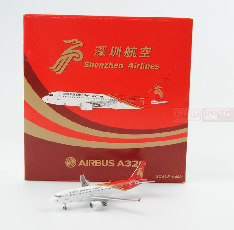 Special offer: Wings XX4609 JC Shenzhen Airlines B-6377 1:400 A320 commercial jetliners plane model hobby special offer wings xx4232 jc korean air hl7630 1 400 b747 8i commercial jetliners plane model hobby