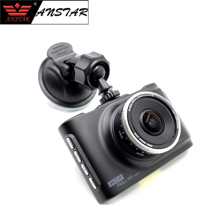 ANSTAR 3 inch Car Dvrs Camera Full HD 1080P Car Dvr Video Recorder Car Camera Move Monitor Night Vision Dash Cam 32GB Black Box