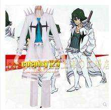 Косплэй убить ла убить uzu sanageyama Косплэй костюм, комплект одежды белый Ultimate форме три звезды Гоку равномерное