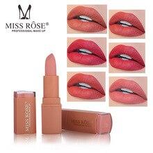 Brand Makeup Matte Lipstick Waterproof Cosmetics Sexy Red Lip Tint Nude batom Batom Lipgloss