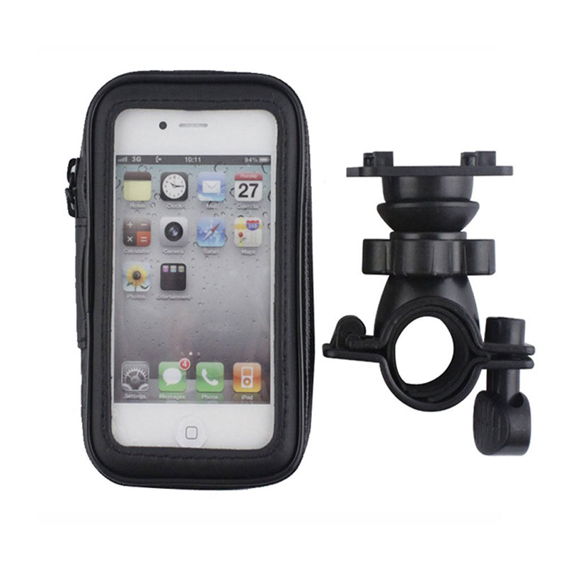 finest selection 8c2cf 65c4c US $11.99 |Waterproof Bike Case Bag for iPhone 6S Plus 5.5'' Bicycle Phone  Holder Stand Motorcycle Phone Case Suporte Bike Mount Holder-in Fitted ...