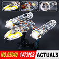 LEPIN 05040 1473Pcs Star War Y-wing Attack Starfighter Model Building Kits Blocks Bricks Boy Toys Compatible 10134