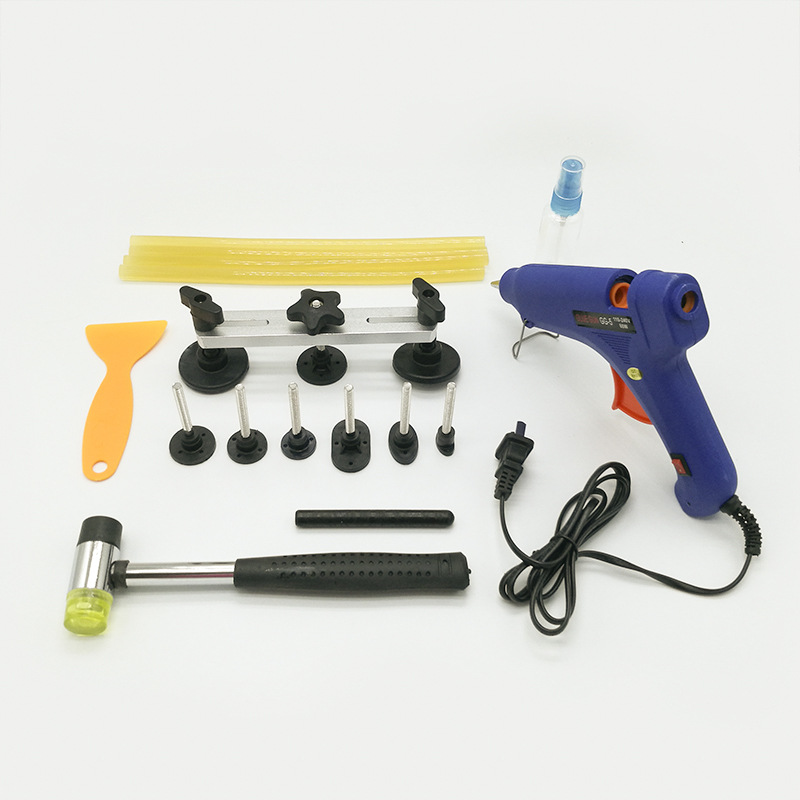 Tools For Dent Removal Fix it Straighten Dents Pulling Bridge Glue Gun Tools Kit car repair