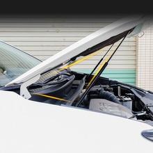 トヨタ RAV4 2014 2018 ブランド新車のエンジンフードフードショックガススプリングストラットダンパーリフターリフトサポート油圧ロッド信頼ロッド 2 ピース