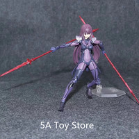 Anime Fate Grand Order Scathach Figma 381 Lancer PVC Action Figures Collection Model Toys Doll Gifts 15CM