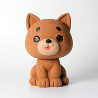 Nicole Lovely Dog Silicone Mold 3D Ice Cream Mousse Cake Handmade Soap Candle Mould Craft Resin Clay Decorating Tool