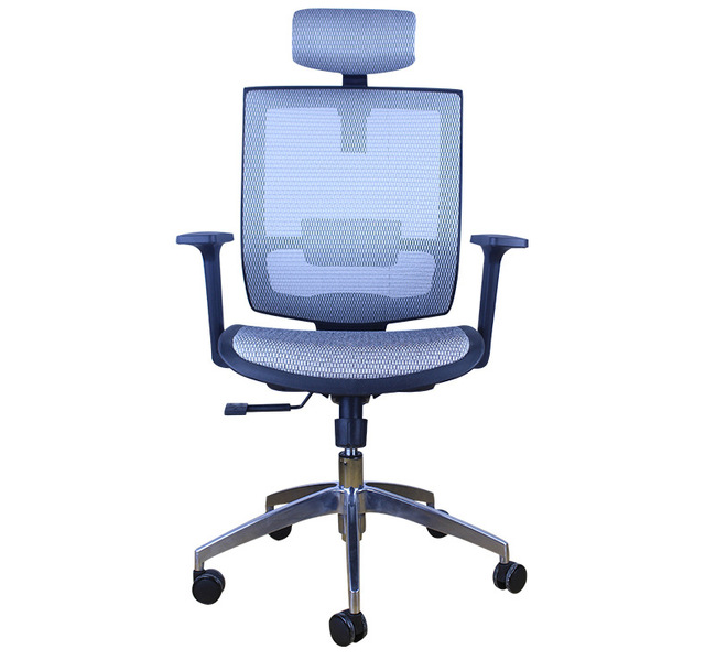 Ergonomic Chair Office Eames Leather Chairs Furniture Commercial Mesh Computer Chassis Swivel Minimalist Modern