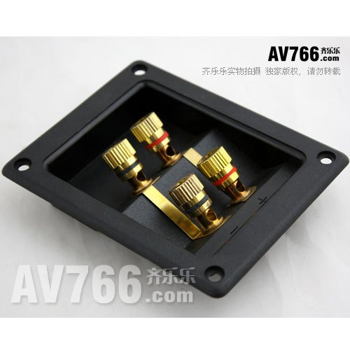 aliexpress com buy quality hi fi speaker wiring box 4 audio rh aliexpress com Wiring 3 8 Ohm Speakers 4 Ohm Speaker Wiring